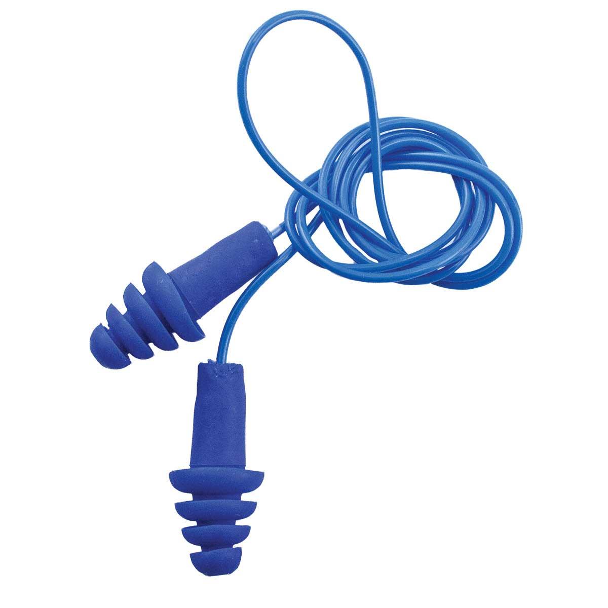 Blue Happy Hoodie Ear Plugs